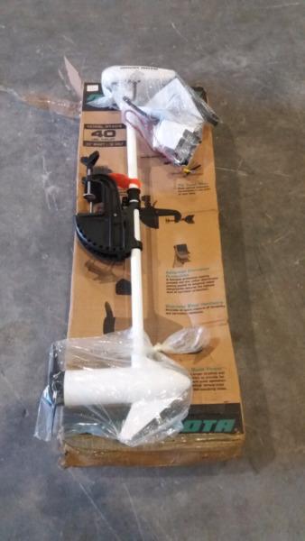 Brand new Minn kota electric motor!