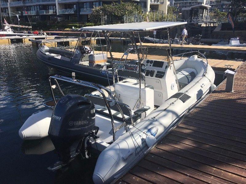 2017 Falcon 650 Rigid Inflatable boat