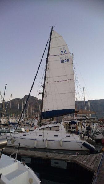 Mooring at RCYC for Sale - Catamaran Cat-D