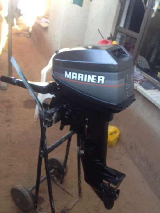 Selling used 15hp mariner outboard motor