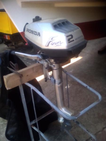 2HP HONDA 4 STROKE OUTBOARD MOTOR