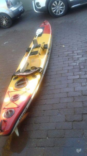 kayaks x 2