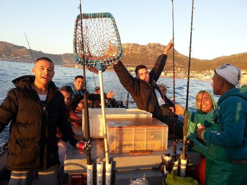 Fishing Trips on Time Bandit, for recreation