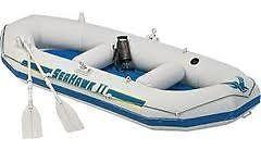 Inflatable two-man dinghy