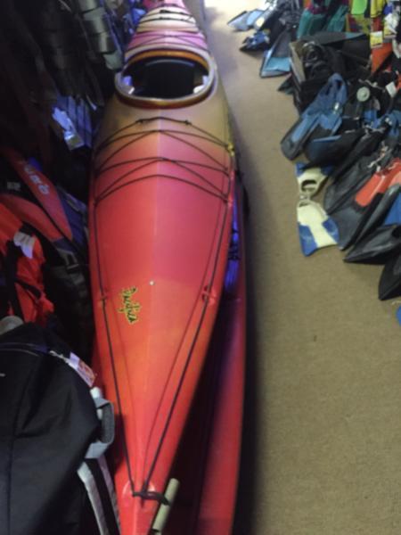 Kayak top end plastic