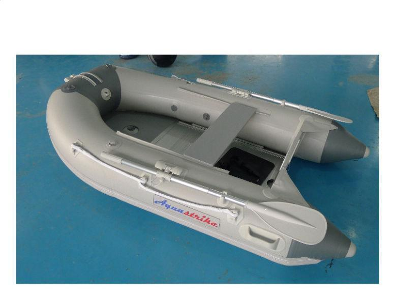 NEW! Specimen 2.4m MK III Aquastrike Inflatable Boats (Aluminium Flooring & Inflatable Keel)
