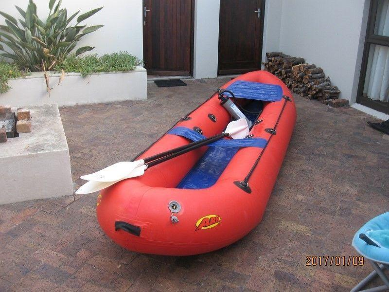 Ark inflatable paddle boat
