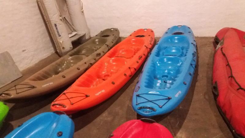 Fluid synergy kayaks