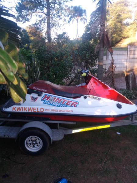 Jet ski tow and go