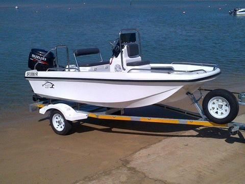 Cathedral Hull Utility Boat 4.1m, by Jamieson Boats & kayaks