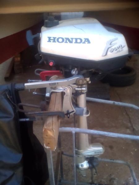 HONDA 2HP 4STROKE OUTBOARD MOTOR