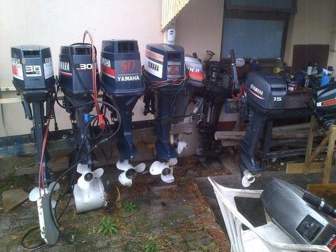 Outboard motors to swop