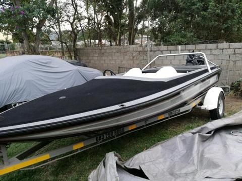 Hull and Trailer for sale