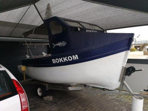 Boat with Diesel Inboard and Stern Drive