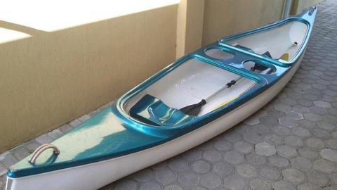 Canoe paddle boat