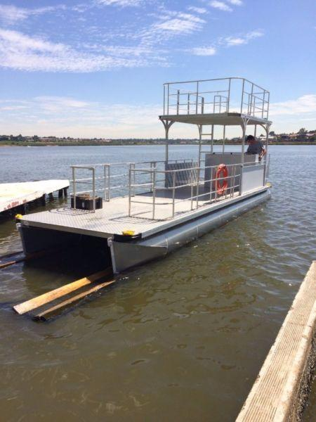aluminium pontoon boats