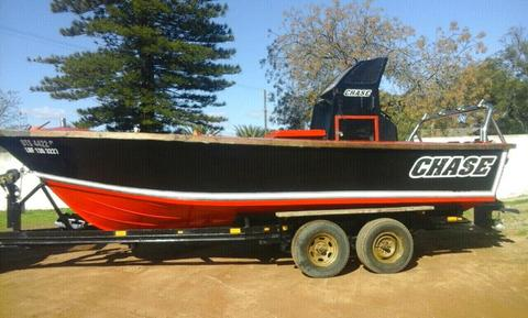 Fishing vessel plus bakkie