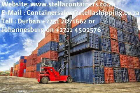 Container sales & Rentals