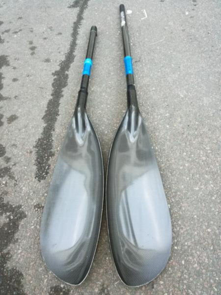 Gara b4 min adjustable carbon paddles