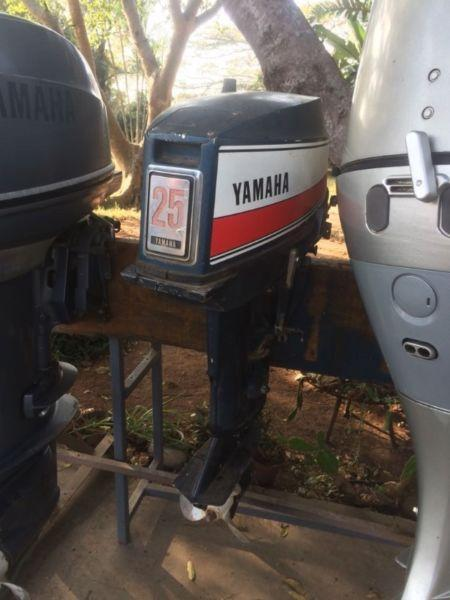 Yamaha 25hp Outboard for Sale