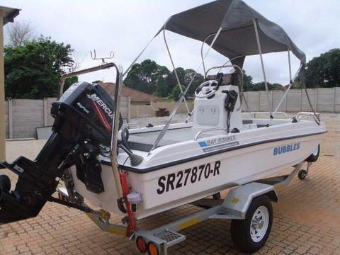 2016 4.5m Cathedrall Hull Bayrunner Boat for sale Great Condition Used Once - R145 000