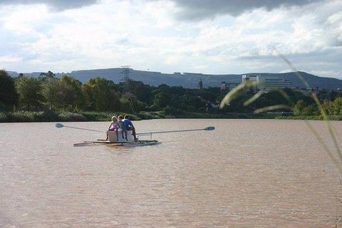 Home made rowing boat