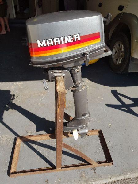 MARINER 5ML 6E3 5HP Outboard motor For Sale
