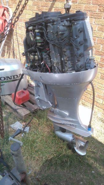 130hp four-stroke Honda forsale