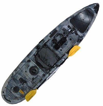 Fishing Kayak with Foot Pedal Drive - NEW