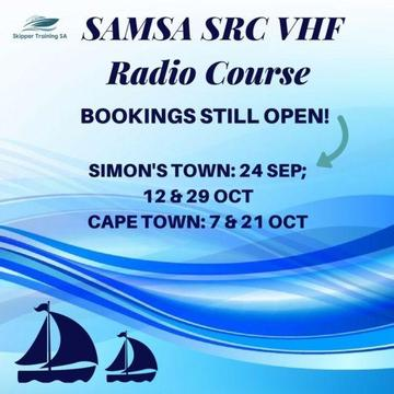 Marine Radio Course SAMSA and ICASA Approved in Cape Town and Simon's Town