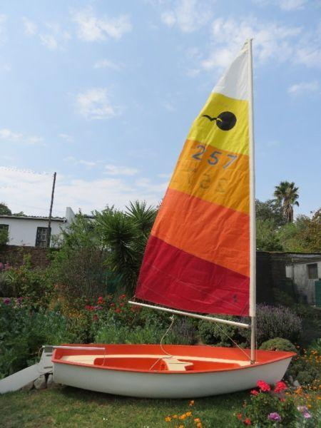 Sailing Dinghy good condition