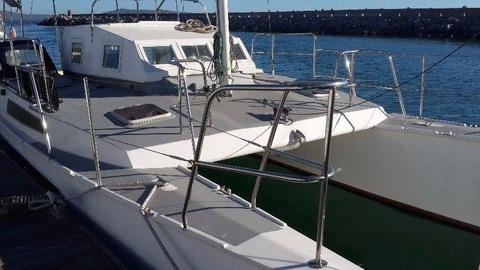 32 ft Catamaran for sale @R445 000 . Call Anje` 082 883 0799
