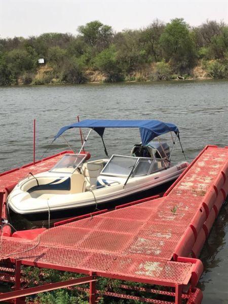 Fazer ski boat 225 yamaha 4 stroke four stroke
