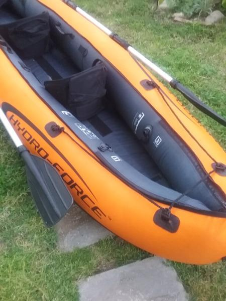 IMPORTED HIGH QUALITY INFLATABLE TWO MAN CANOE
