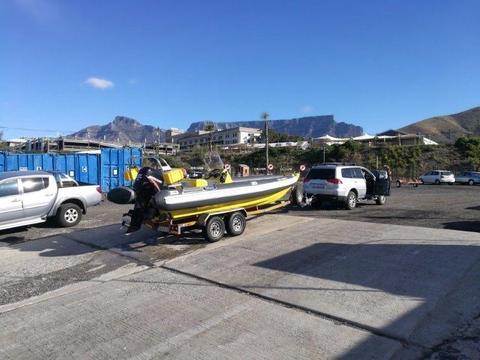Semi Rigid 7m SRS RIB Boat (Immaculate !)
