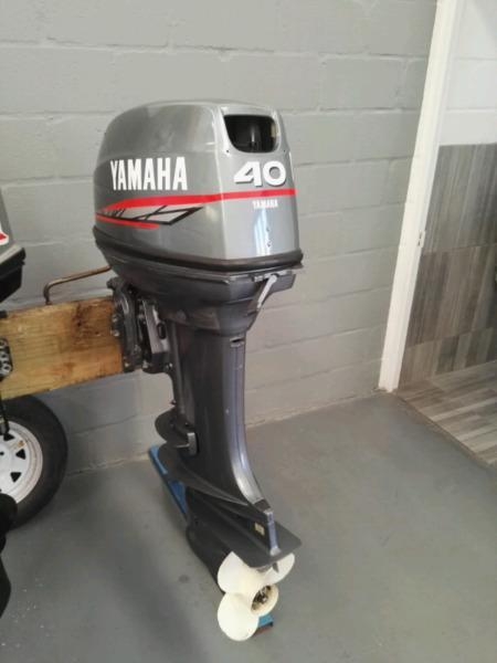 40HP Yamaha Outboard Engine