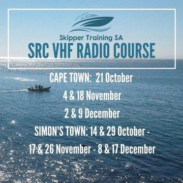 Marine Radio Course, SAMSA and ICASA Approved, Dates till year end!!