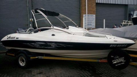 Avante 180 with 115hp Yamaha (107 hours)