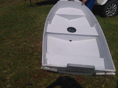 Fiberglass dinghy