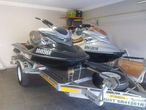 2 x Seadoo Jetskis for sale