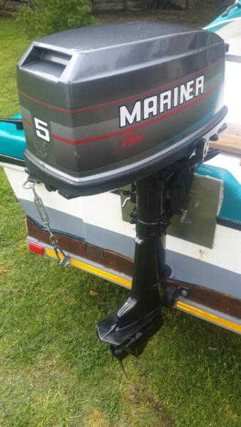 5 hp Mariner outboard for sale