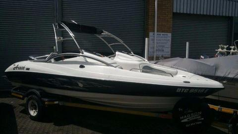 Avante 180 with 130hp Yamaha (107 hours)