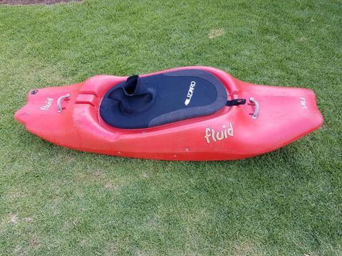Kayak white water