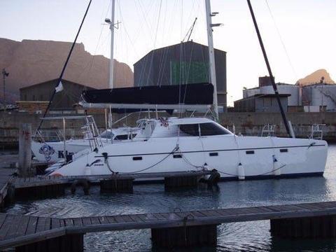 42 ft Cruising JAGUAR Catamaran for sale - R2.2mil. Call Anje` 082 883 0799