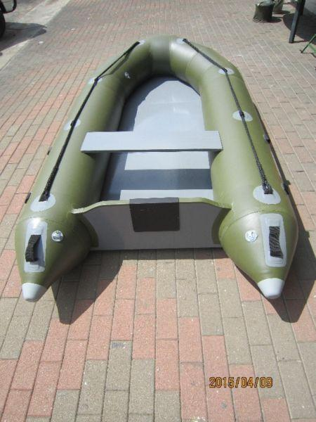 Inflatable fishing boats 3.2m New.Strong Quality sitting or standing