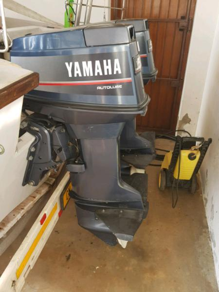 2 x 50hp Yamaha outboards for sale