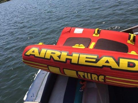 Sweet Tow Tube, Boat Airhead 2 Man U Tube
