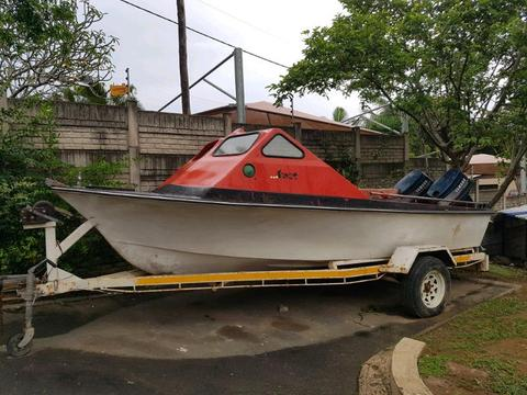 Boat and trailer no motors