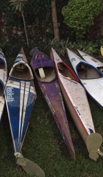 K1 canoes