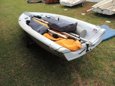 RS Feva racing dinghy